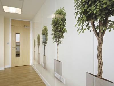Bespoke Hygienic Wall cladding