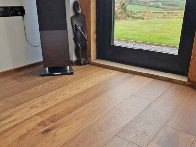 Wooden Floor installed in Devon