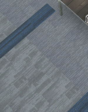 Lines in flooring to show 2 metre rule