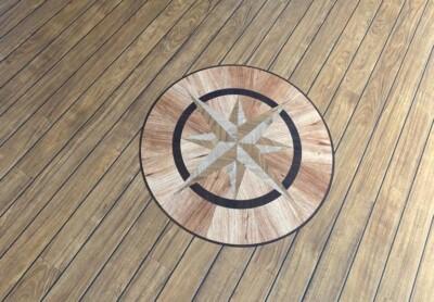 Amitico compass design motif