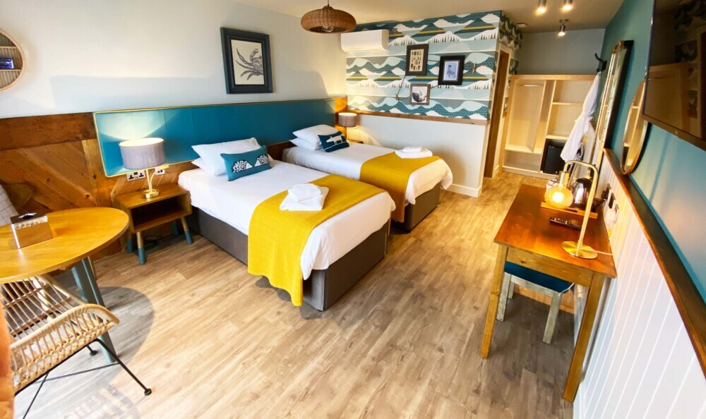 LVT in Hotel Bedroom