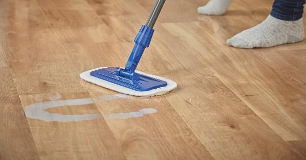 Apply Refresh to clean your Karndean floor