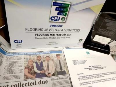 Devon Flooring Contractors win National Award