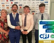 Flooring Matters with CFA award 2021